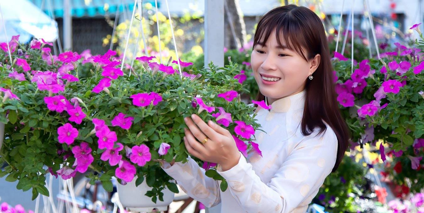 Fleurs du Têt vietnamien