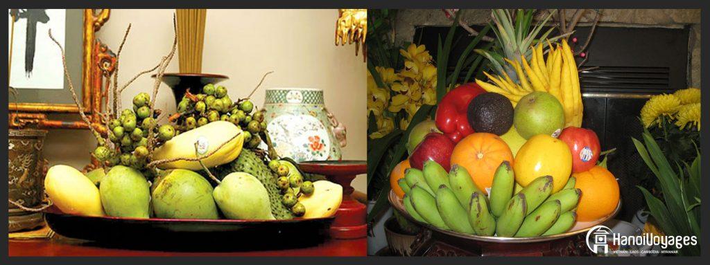 Plateau de 5 fruits - Âme du Vietnam