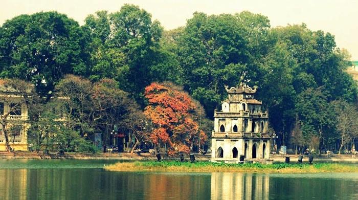 Lac de l'épée restituée Hanoï - Âme du vietnam
