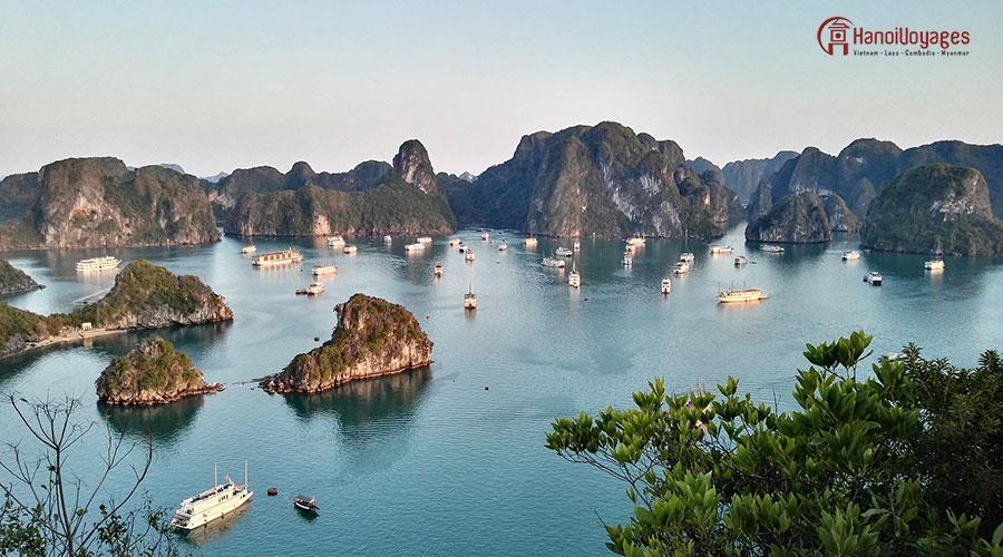 Baie d'Halong - Vietnam en été - Âme du Vietnam