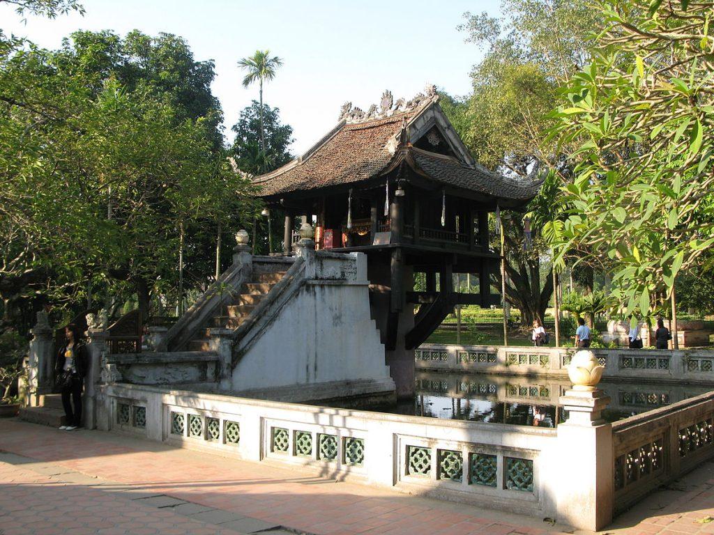 La pagode au pilier unique Hanoï - Âme du Vietnam