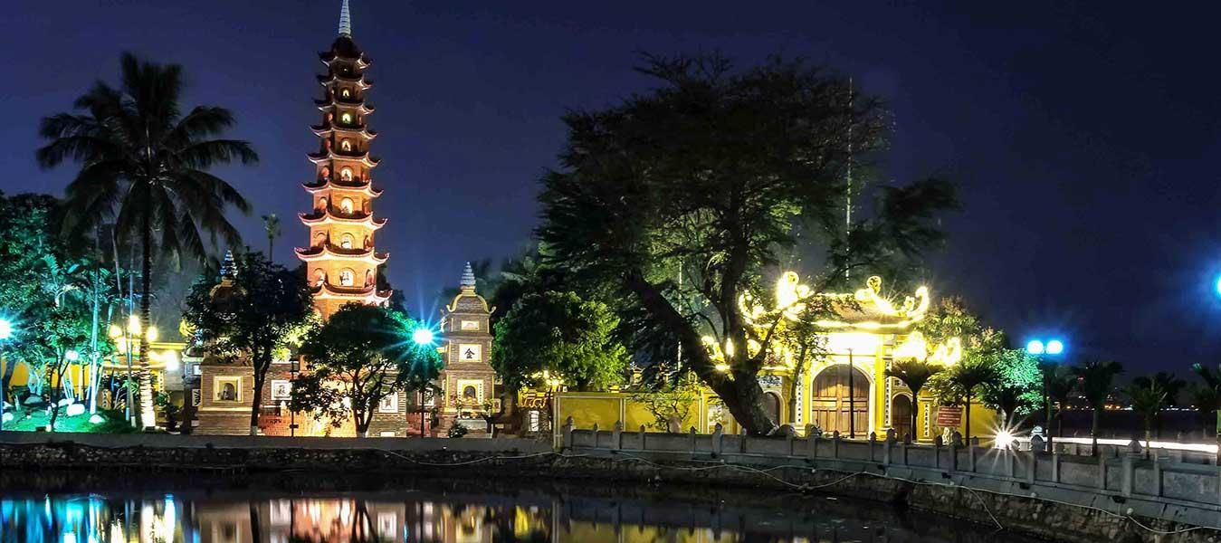 Temples et Pagodes à hanoi - Voyage à hanoi