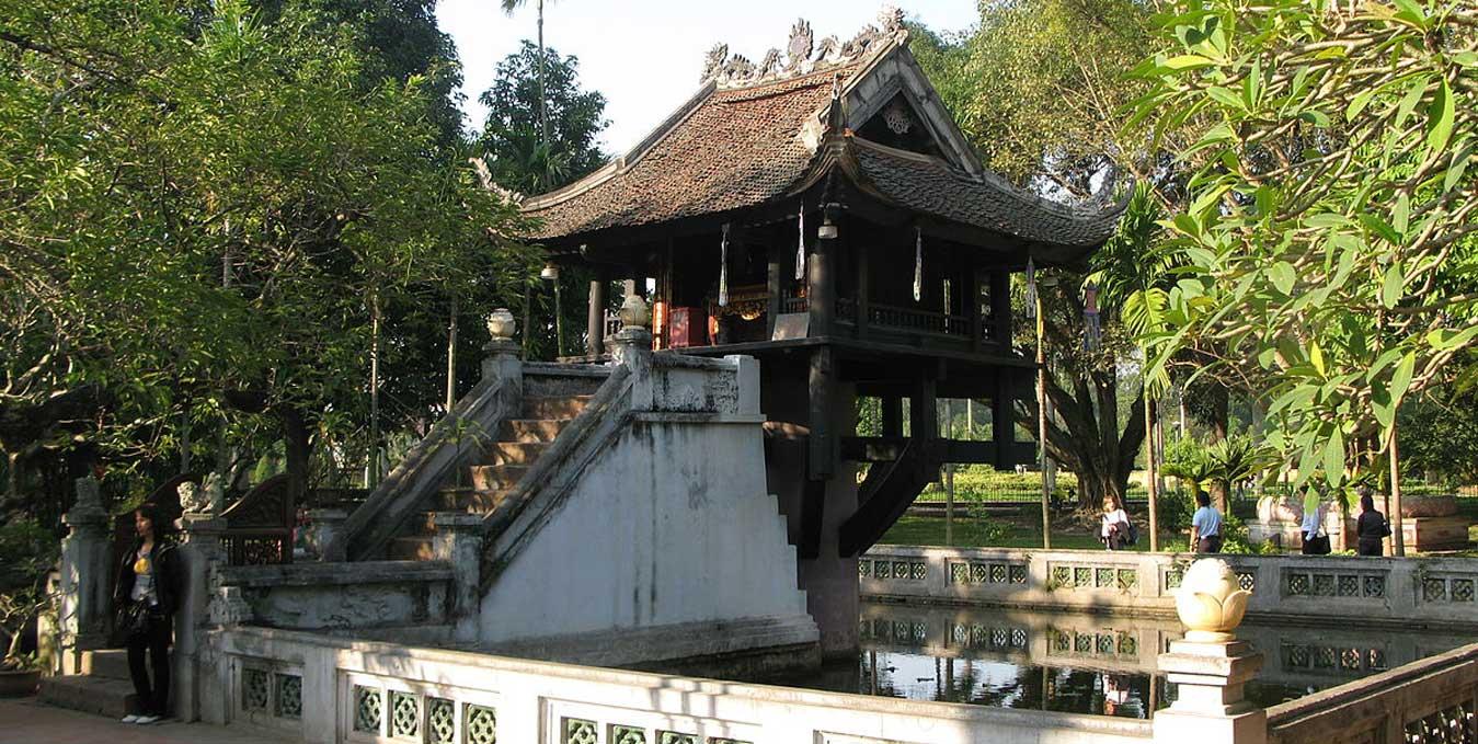 La pagode à pilier unque à Hanoi