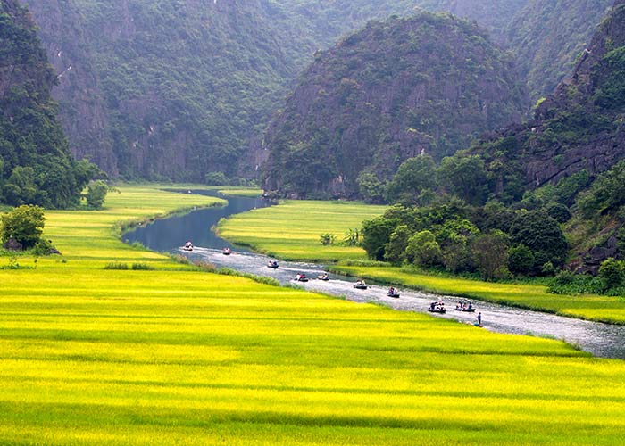 Ninh Binh - La Baie d'Halong terrestre