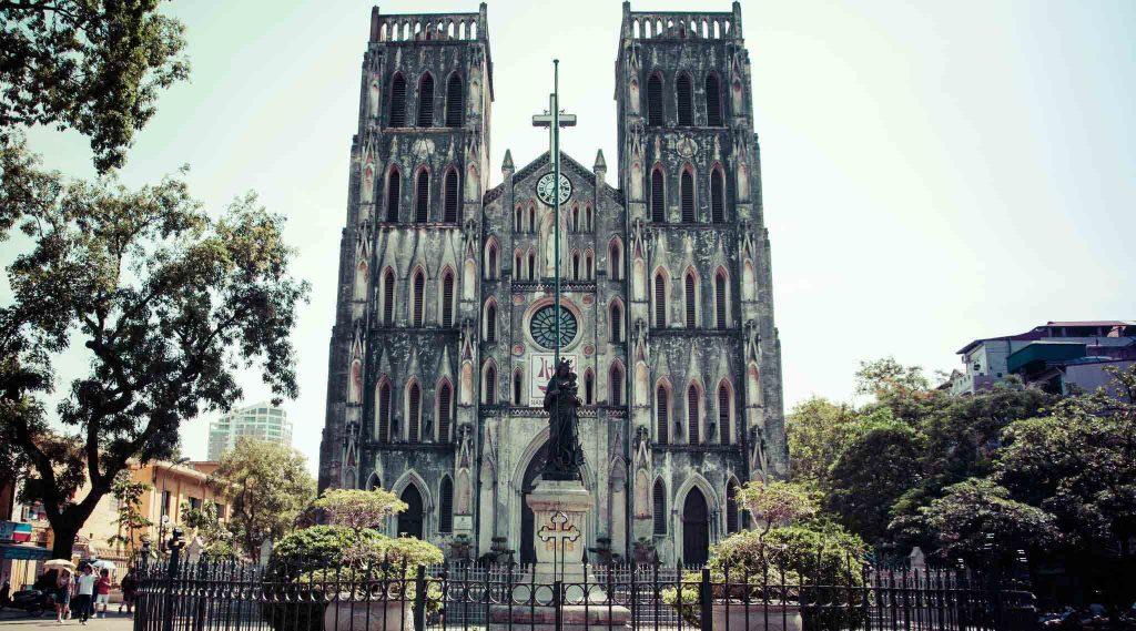 Cathédrale de St. Joshep à Hanoi