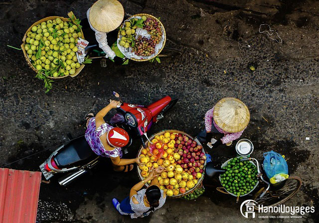 Vendeurs de rue - Âme du Vietnam