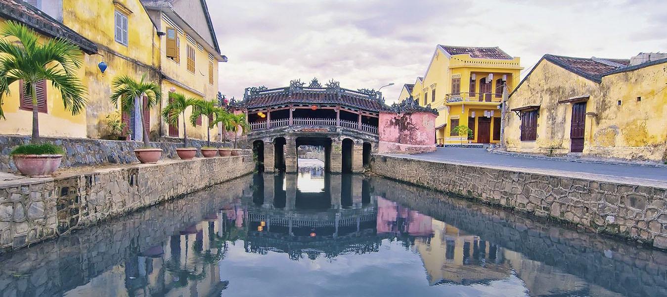 Pont Japonais - Hoi An- Âme du Vietnam