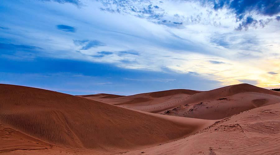 Dunes de sable rouge - plages du Vietnam - Âme du Vietnam
