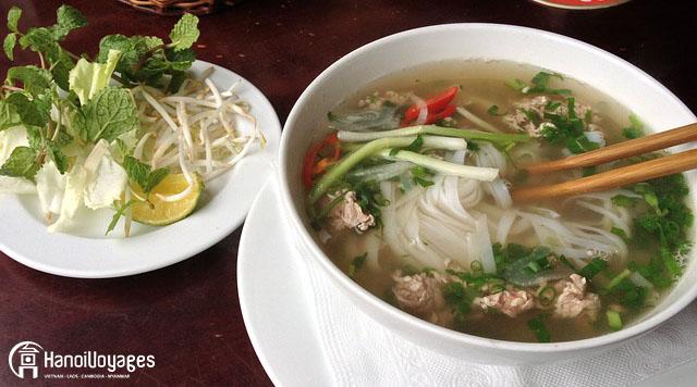 Pho gastronomie vietnamienne - Âme du Vietnam