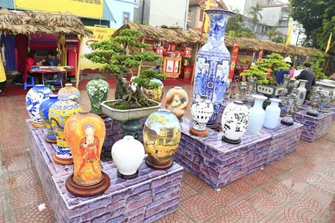 Village artisanal de Bat Trang - céramiques - Âme du Vietnam