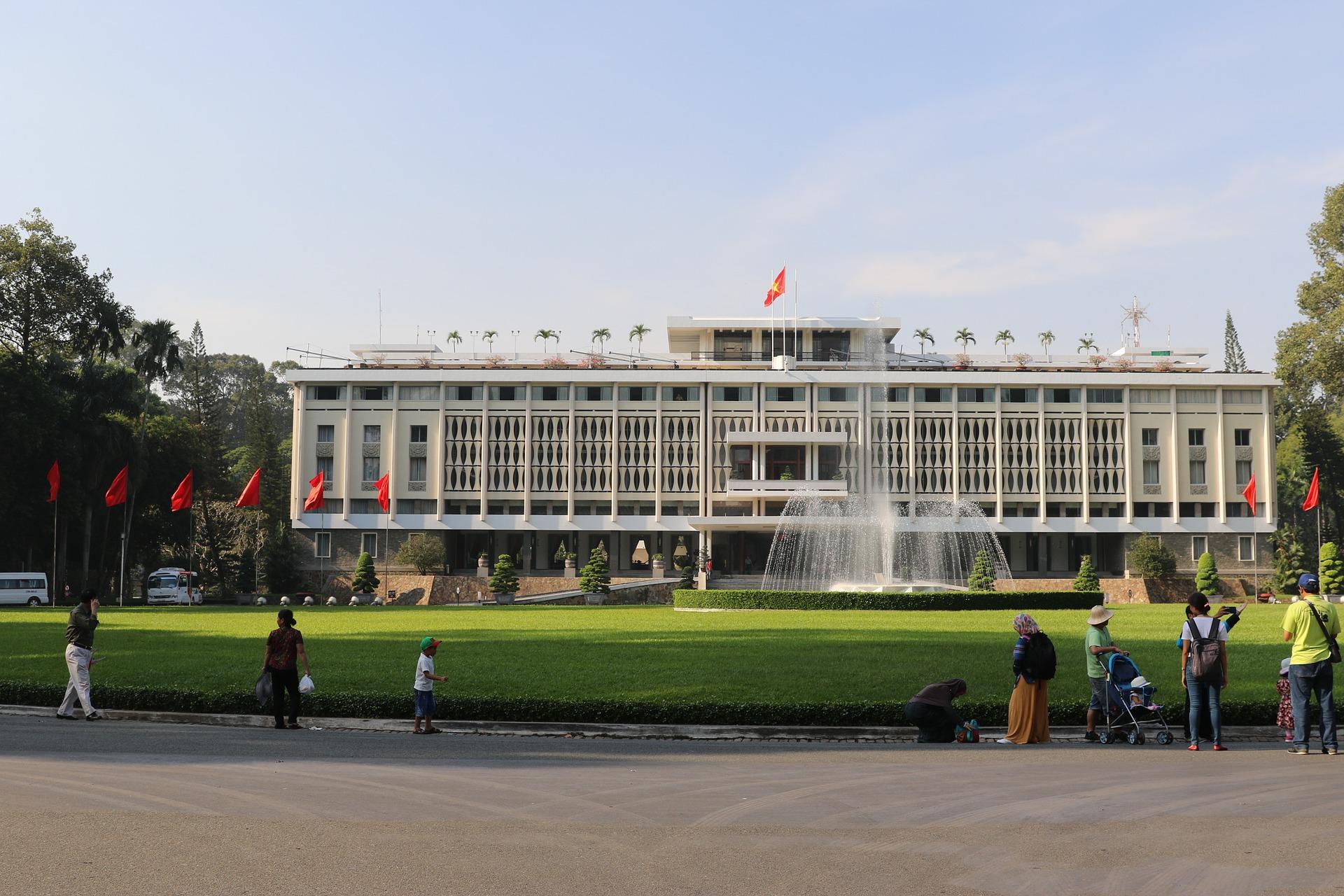Palais de la réunification - Ho Chi Minh - Âme du Vietnam