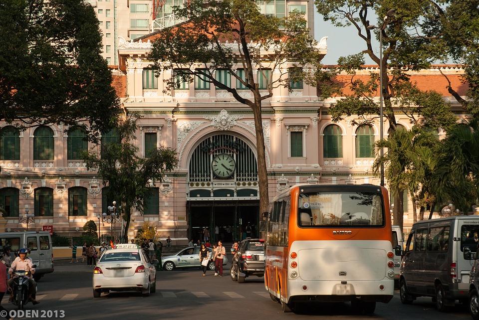 Poste centrale - Oh Chi Minh - Âme du Vietnam