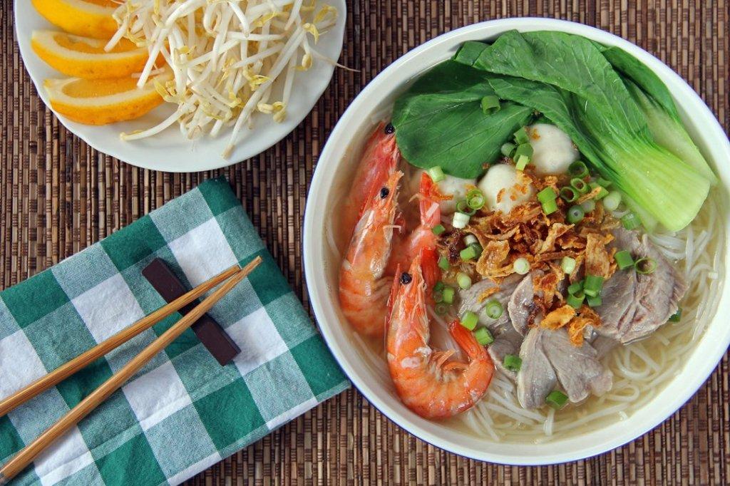 Soupe Hu Tieu Saigon - Âme du Vietnam