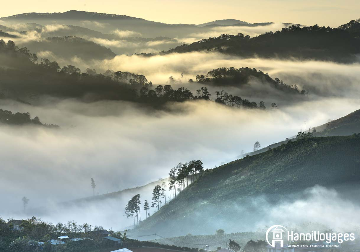 Đà lạt dans la brume - destination - Âme du Vietnam