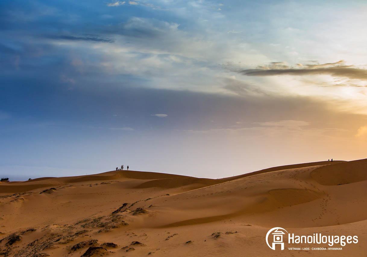 Le col de sable à Mui Ne