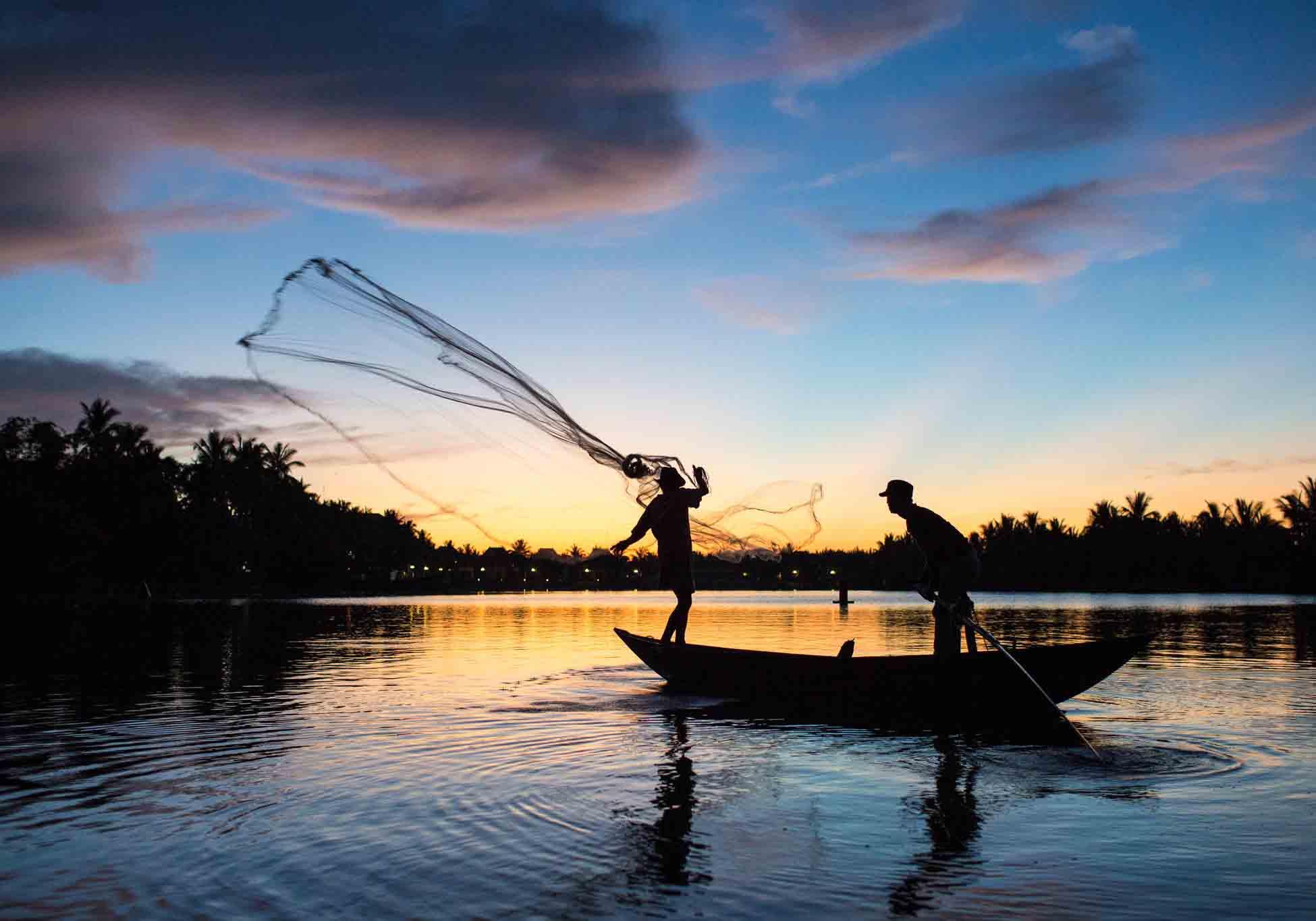 La rivière Thu Bon - destination - Âme du vietnam
