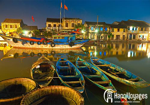 rivière à Hoi An - Vietnam en juin - Âme du Vietnam
