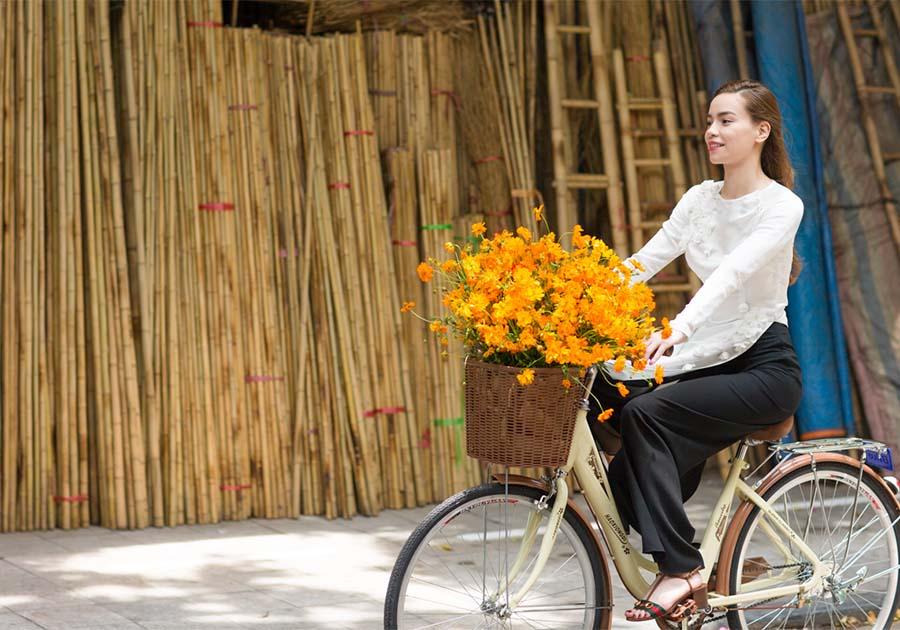 transport Hanoï - Bicyclette - Âme du Vietnam