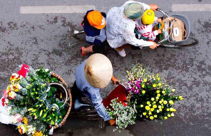 la rue hanoi - Âme du Vietnam