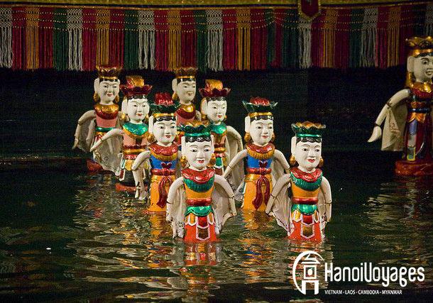 marionnette sur l'eau à Hanoi - Vietnam en juin - Âme du Vietnam