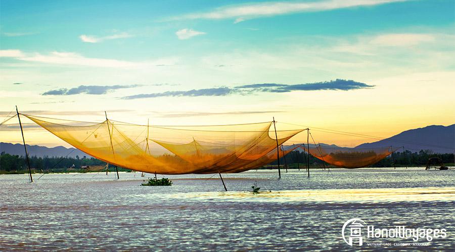 Pêche sur la rivière