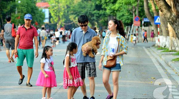 pied à Hanoi