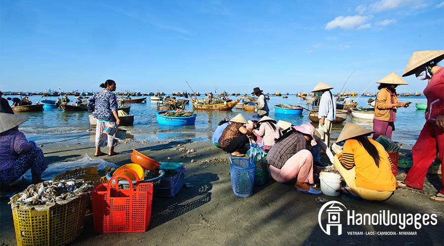 plage Binh Thuan ame vietnam en septembre