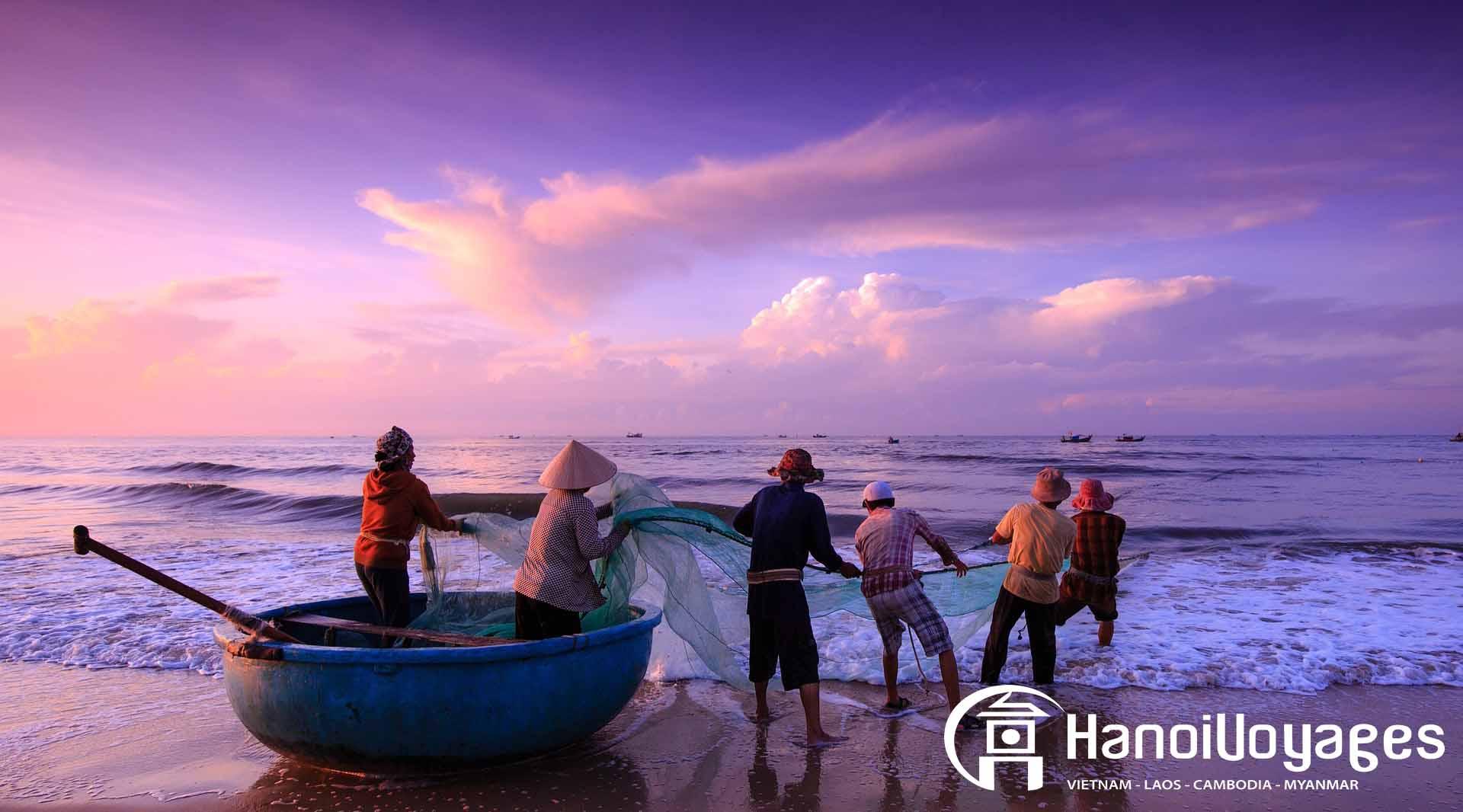 plage vietnam - Vietnam en juillet - Âme du Vietnam