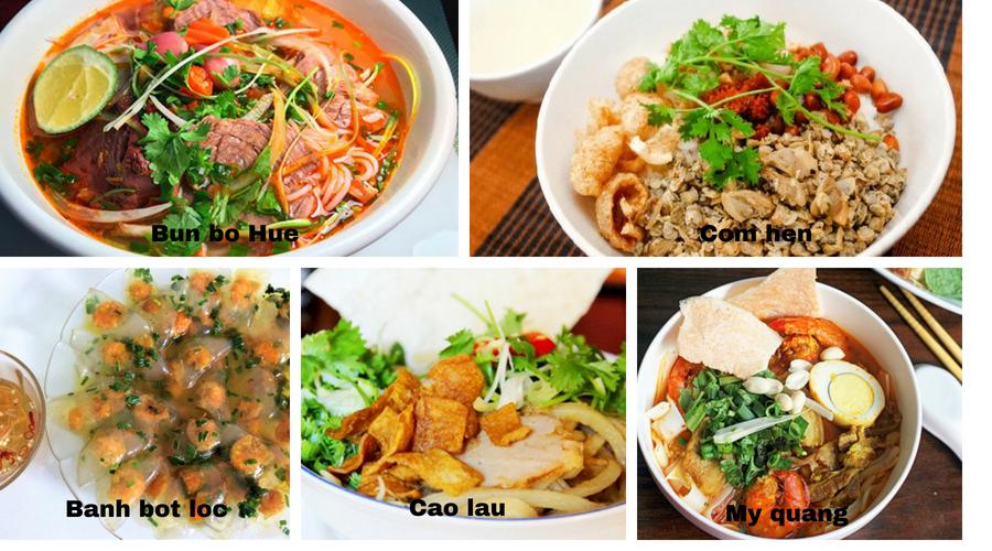 Cuisine - Centre du Vietnam - Âme du Vietnam