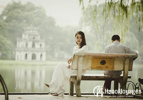 lac-Hoan-Kiem - Vietnam en août - Âme du Vietnam