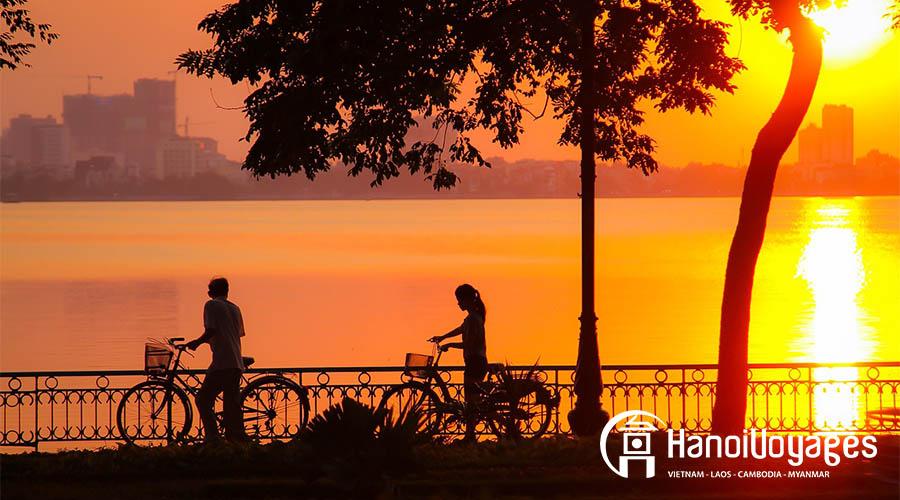 lac-ouest-hanoi - Vietnam en août - Âme du Vietnam