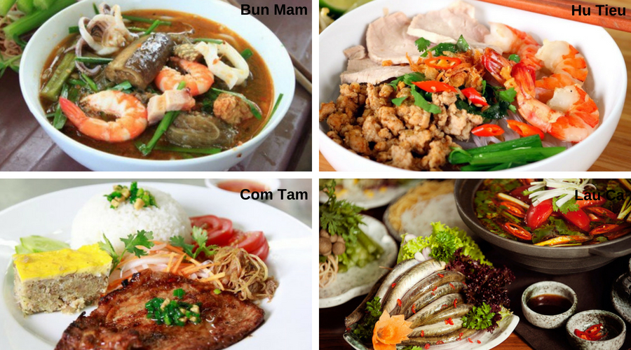specialités- Sud du Vietnam - Âme du Vietnam