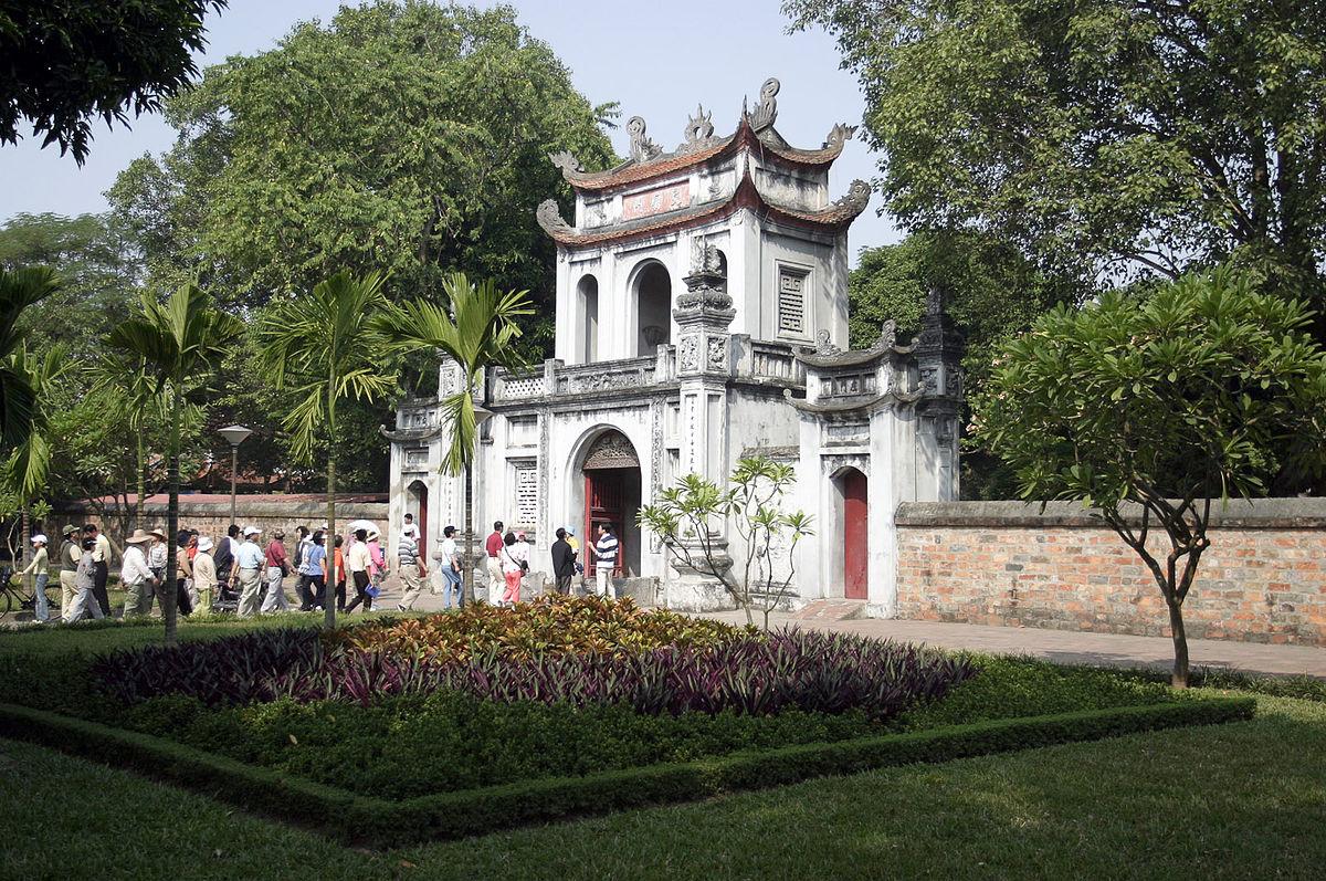 Temple de la littérature - Hanoï - Âme du Vietnam