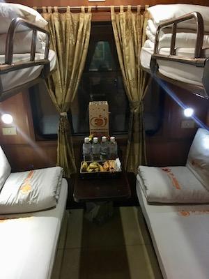 ET - Pumpkin Express cabines/lits