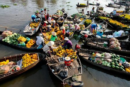 Mékong-marché-flottant-vietnam