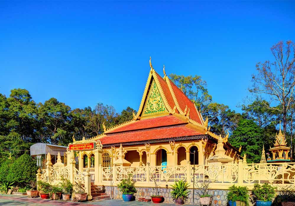Delta du Mékong - temple