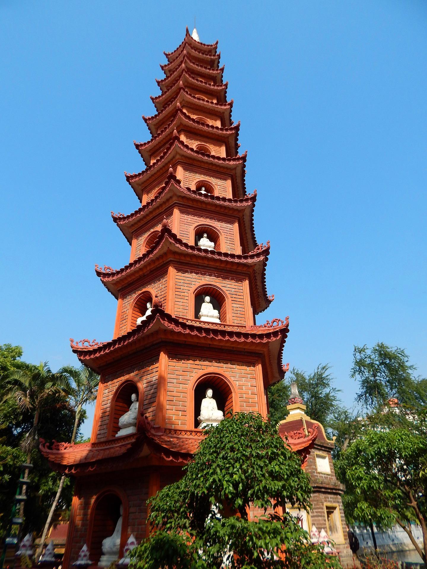 pagode hanoi - Voyage au Vietnam en famille - Âme du Vietnam