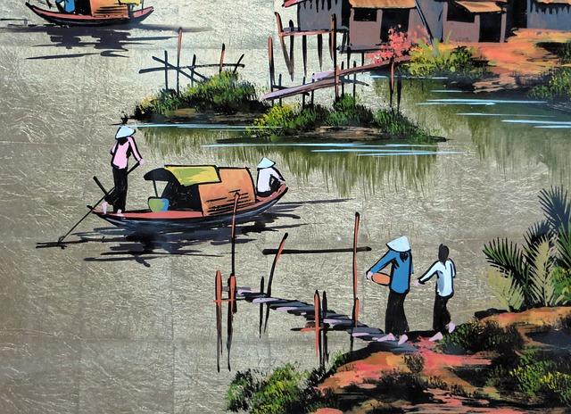 soie-artisanat-Vietnam-souvenir