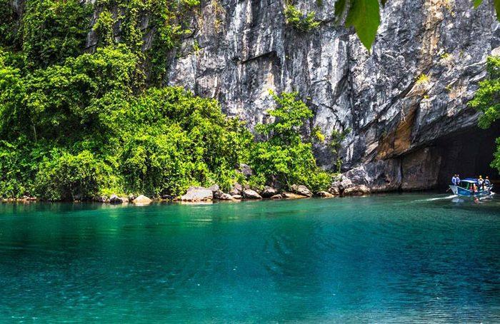 paysage paradisiaque à Phong Nha