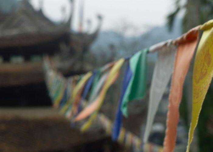pagode des parfums fanions