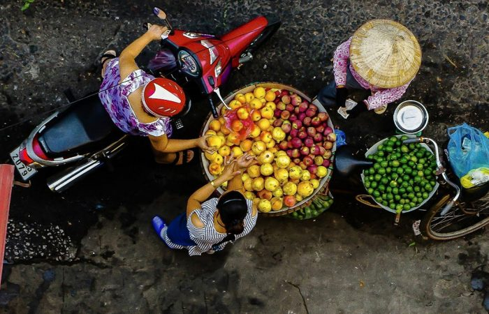 cuisine de rue à hanoi