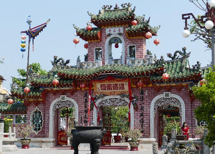 batiment chinois hoi an