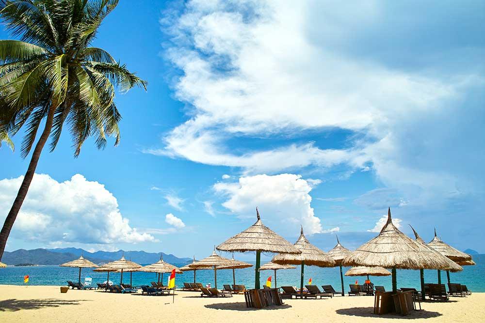 Plage sable Nha Trang