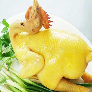 poulet cuit tet
