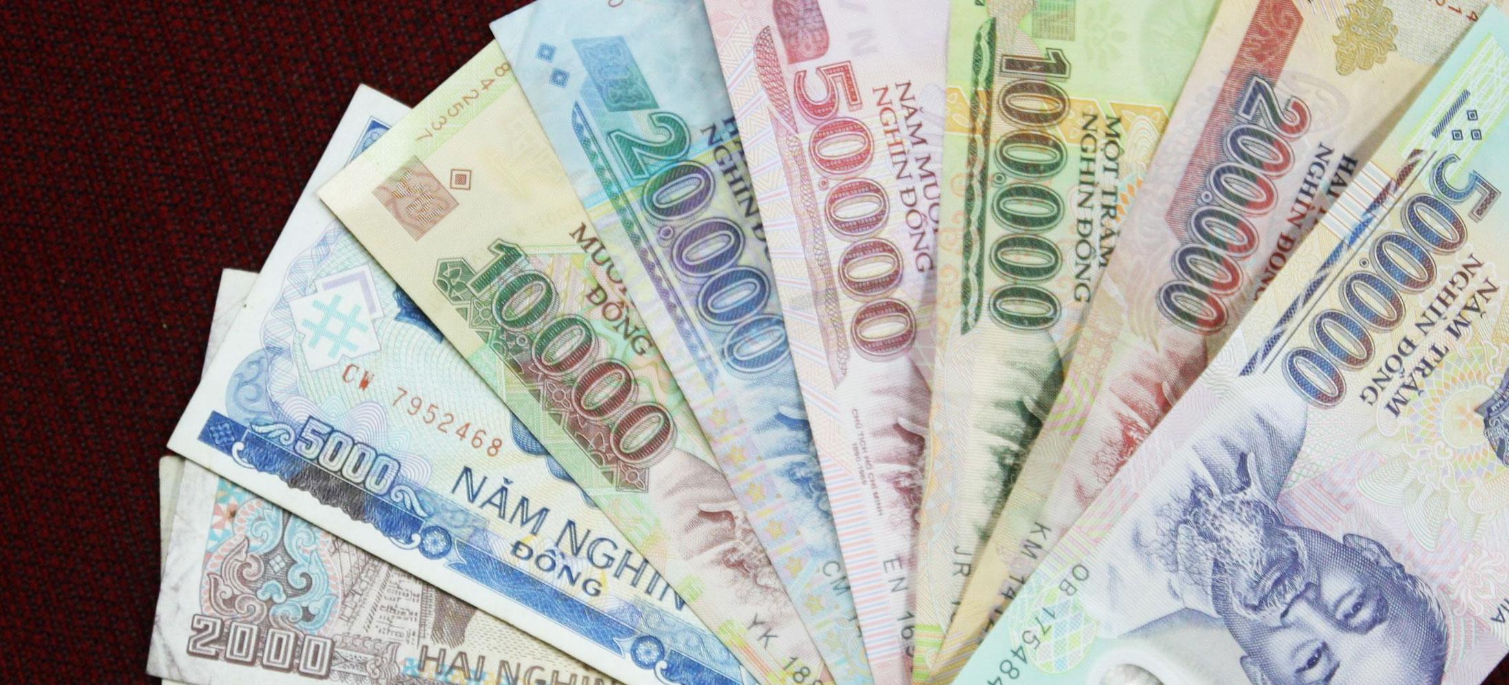 dong monnaie vietnamienne billets