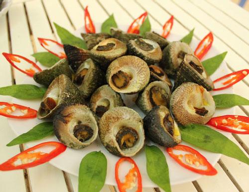 escargots ile de cham