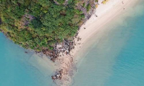 plage activités à la baie d'Halong