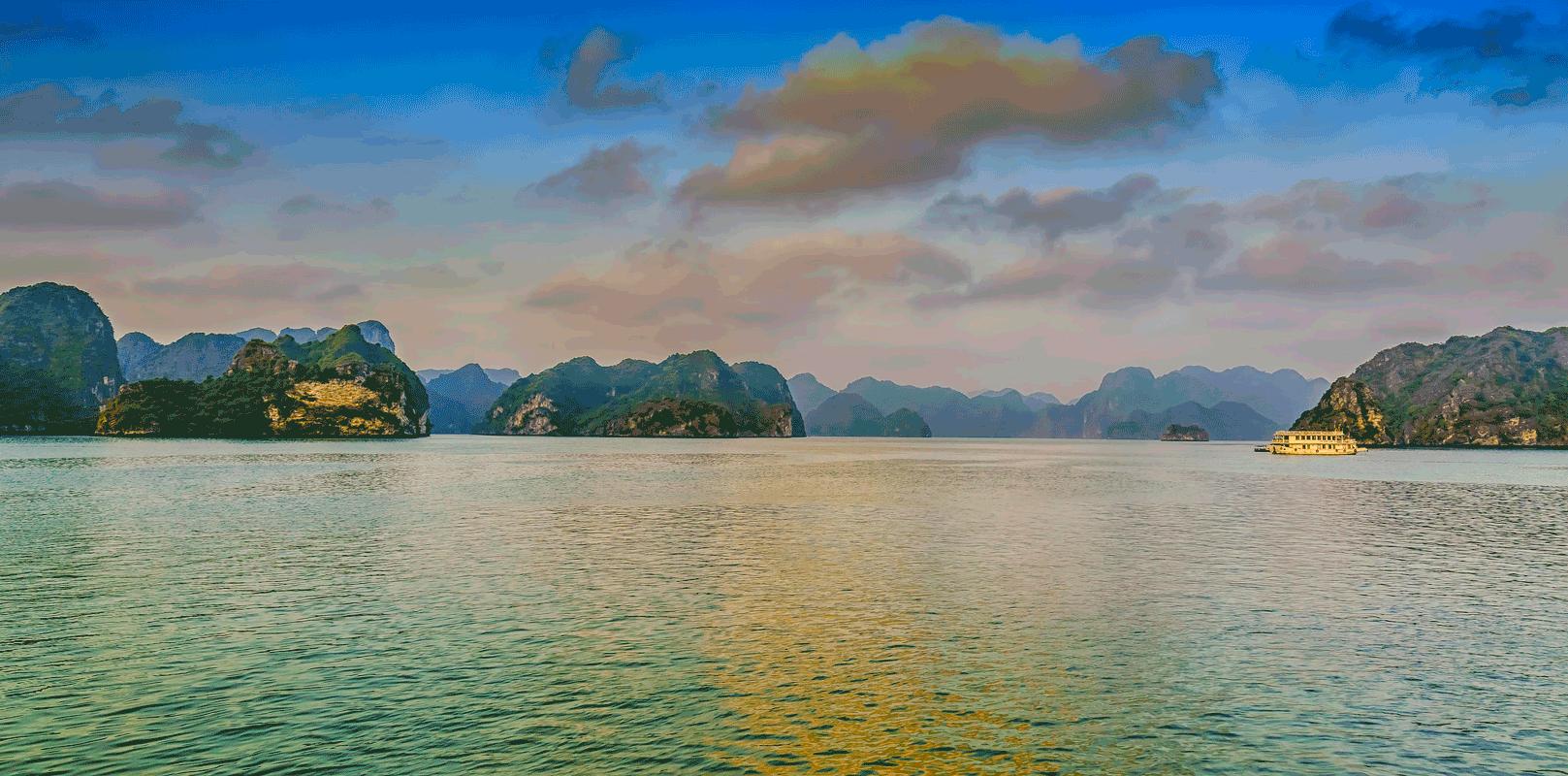 activités à la baie d'Halong